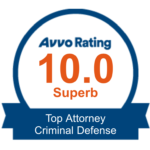 Fay & Grafton rated 10.0 as a top criminal defense attorney in Raleigh by Avvo.com