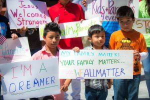Kids-Rallying-At-DACA-Rally-Raleigh-Immigration-Attorney