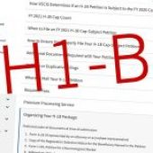 What is the process for getting an H-1B visa?