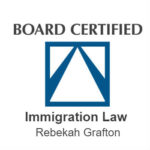 Attorney Rebekah Grafton has been certified as a North Carolina Immigration Law Specialist by the NC Bar Association