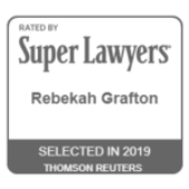 "Attorney Rebekah Grafton Named 2019 ""Super Lawyers Rising Star"""