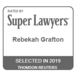 Rebekah Grafton was just named a 2019 'Super Lawyer'